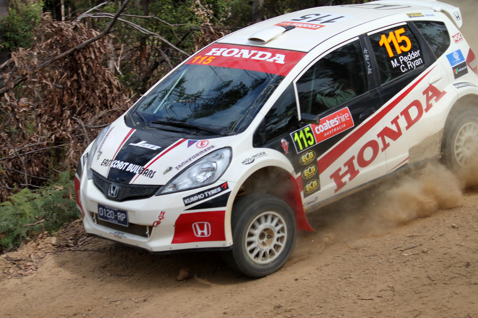 Honda Jazz Rally Australia 2013 by TarJakArt