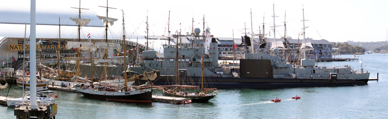 Australian National Maritime Museum Pano by TarJakArt