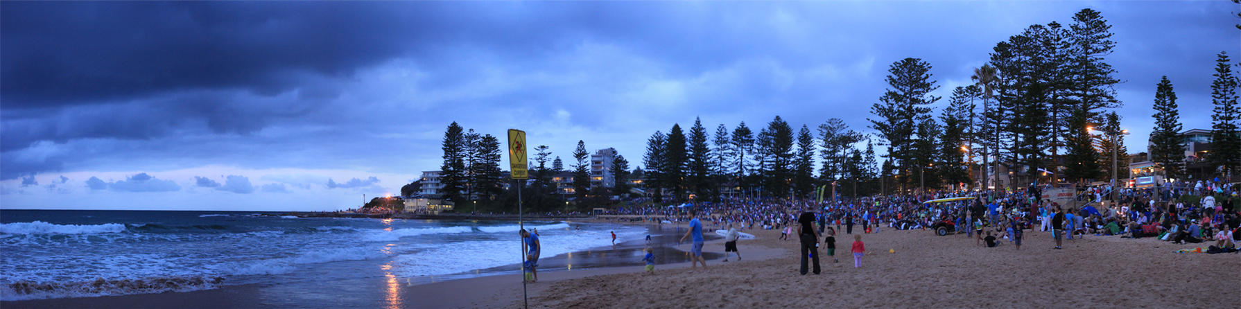 Dee Why Twilight Pano by TarJakArt
