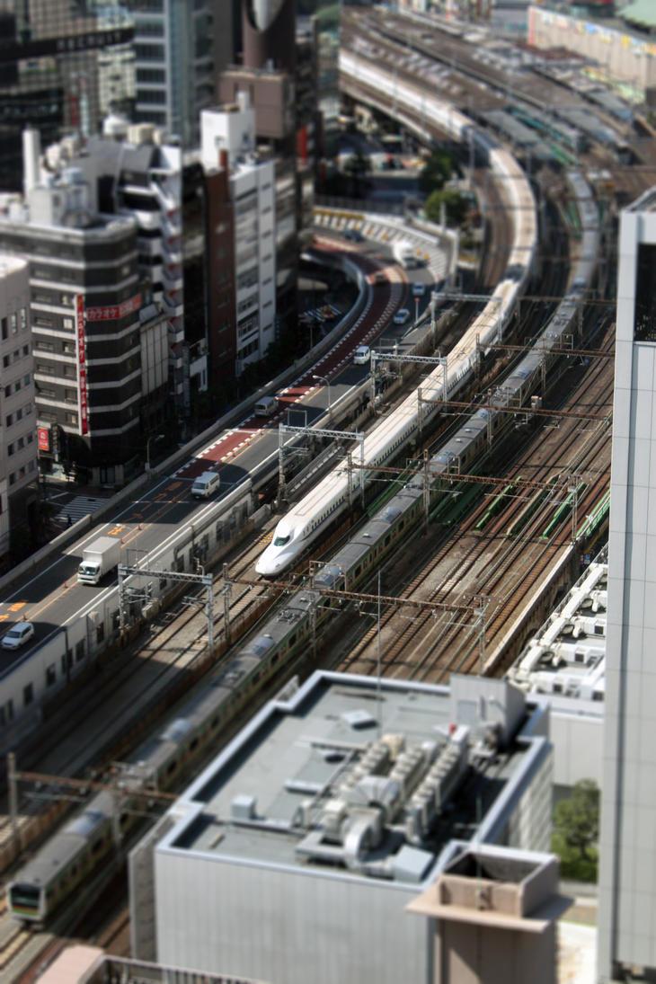 Shinkansen by TarJakArt
