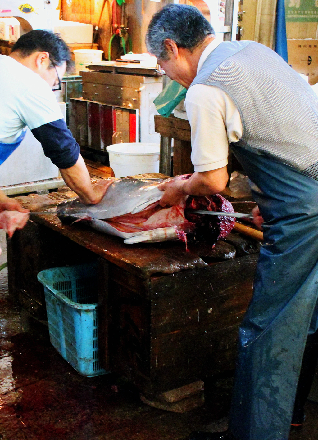 Tuna Butchers by TarJakArt