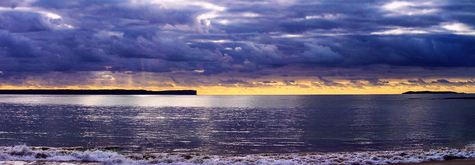 Jervis Bay Panorama - Redux by TarJakArt