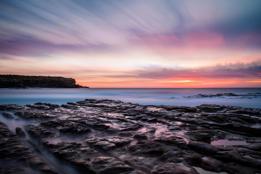 Little Bay Dawn by TarJakArt