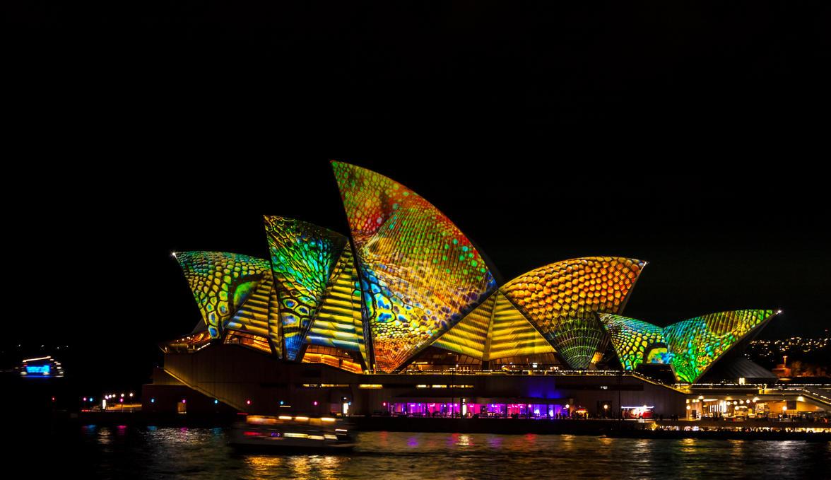 Vivid Opera House by TarJakArt