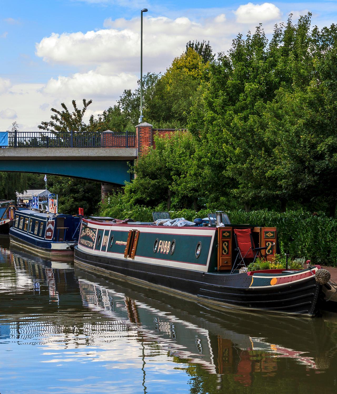 Canal boat by TarJakArt
