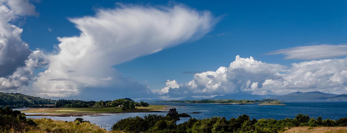 Loch Linne Cloud formations by TarJakArt