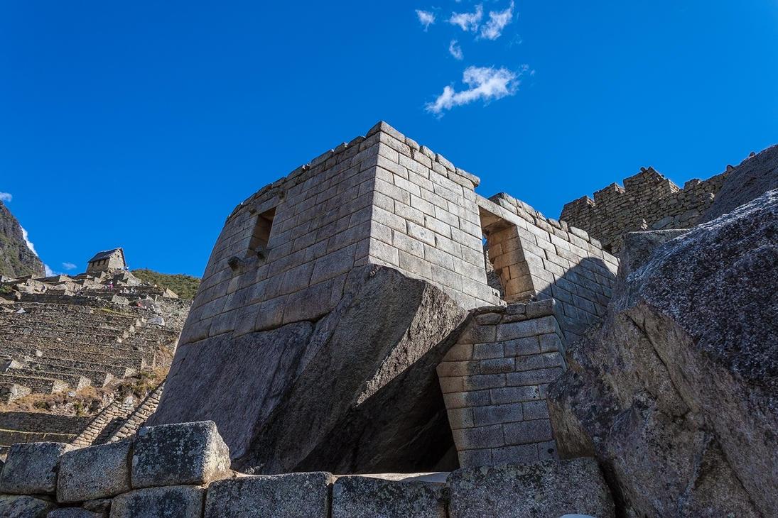 Machu Picchu Temple of the Sun by TarJakArt