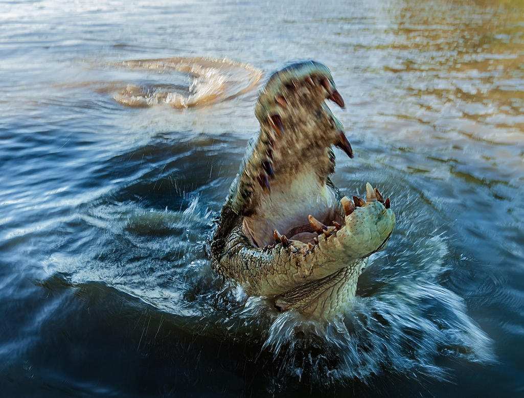 Jaws of death! by TarJakArt