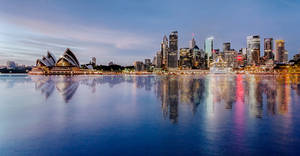Sydney Reflections - Take 2 by TarJakArt