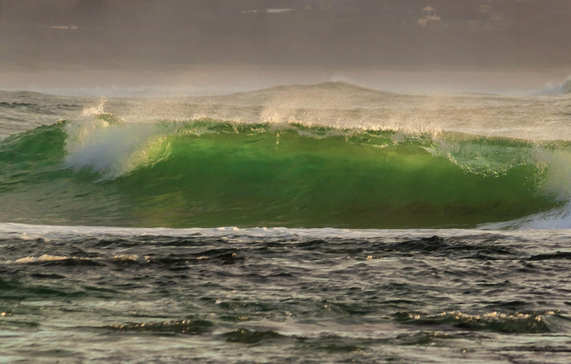 Mollymook Wave 3 by TarJakArt