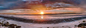 Mollymook Dawn Panorama