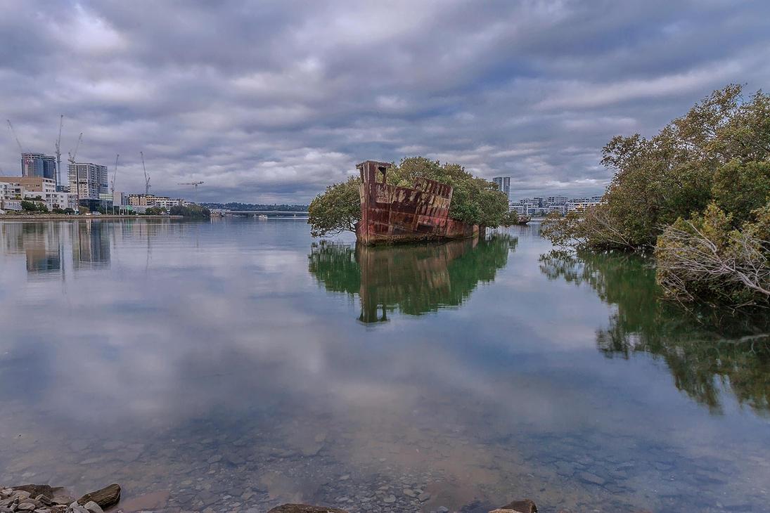 SS Ayrfield by TarJakArt