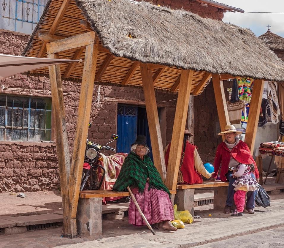 Sillustani locals by TarJakArt