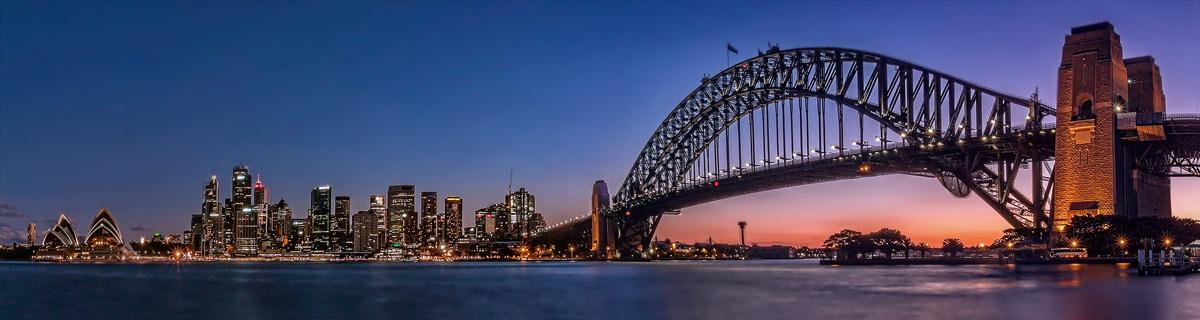 Dusky Sydney by TarJakArt