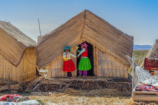 Uros Islands - Big Fish Island