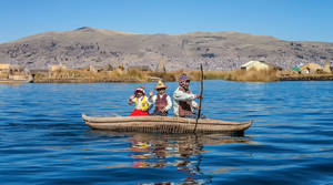 Uros Islands boating