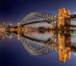 Sydney Harbour Bridge - Reflections