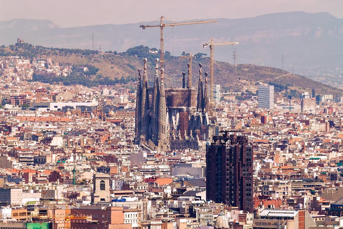 Barcelona Sagrada Famila by TarJakArt