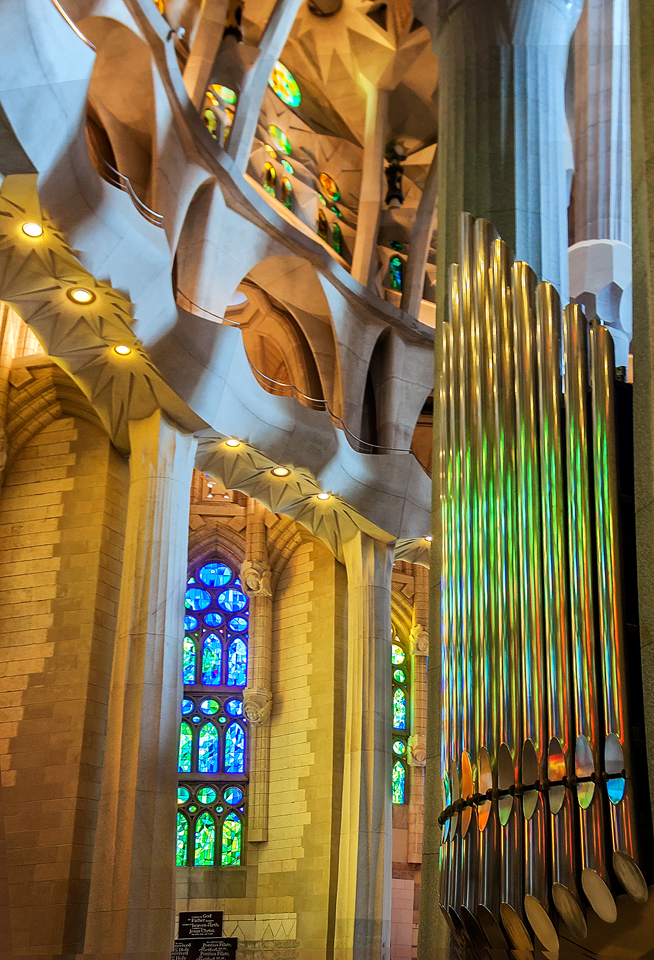 Sagrada Familia - OrganPipes by TarJakArt