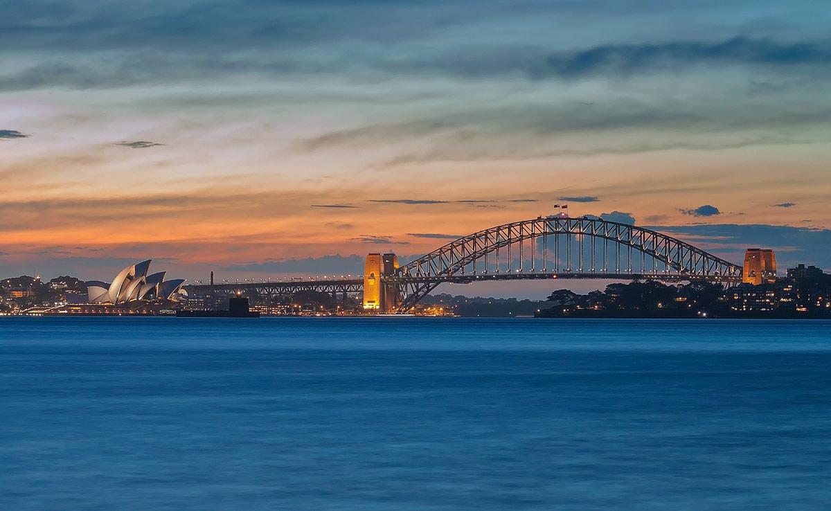 Sydney Sunset by TarJakArt