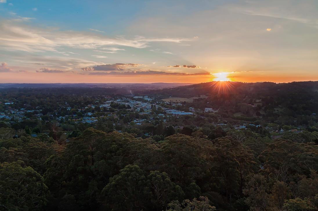 Bowral Sunset by TarJakArt