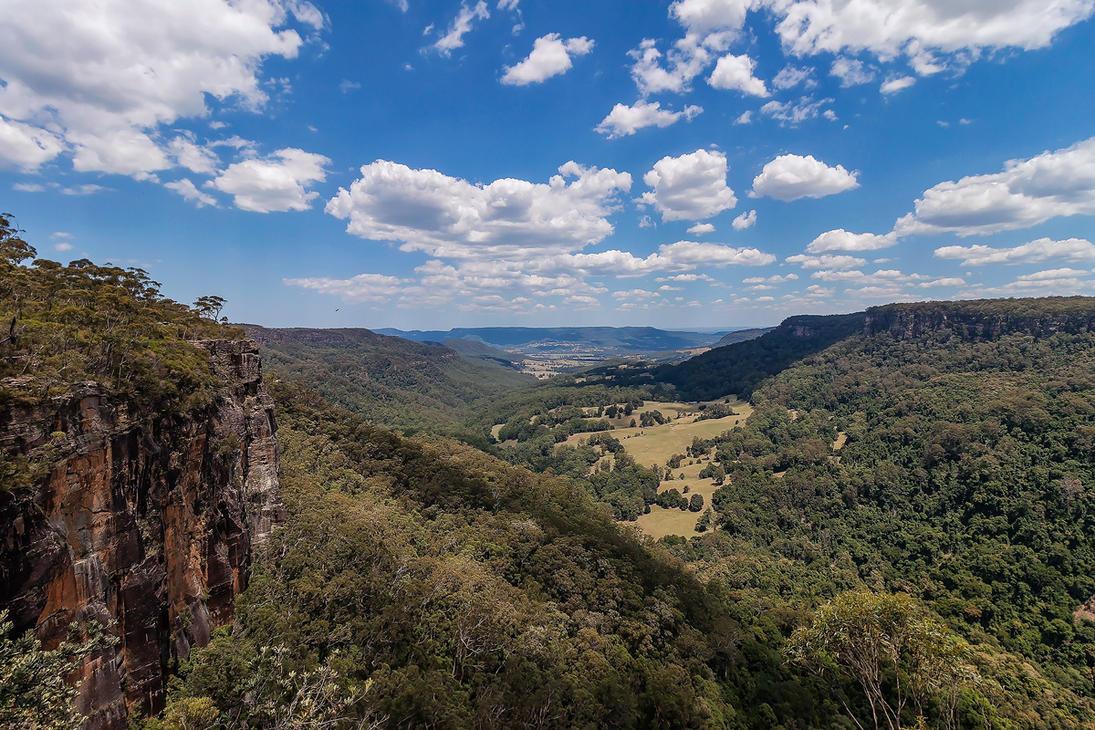 Kangaroo Valley by TarJakArt
