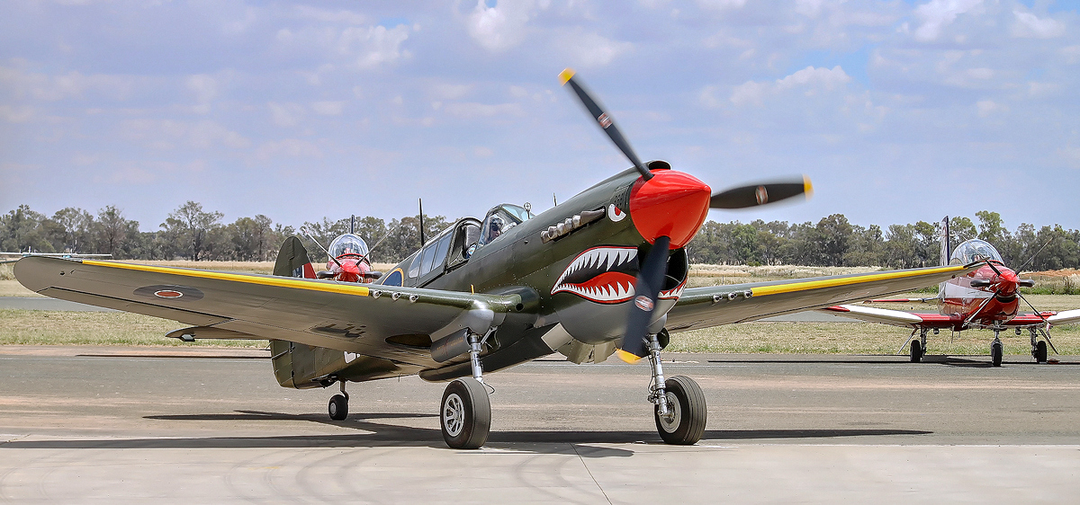 P-40 Startup by TarJakArt