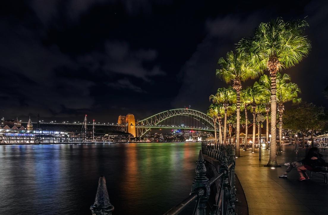 Sydney Harbour by TarJakArt