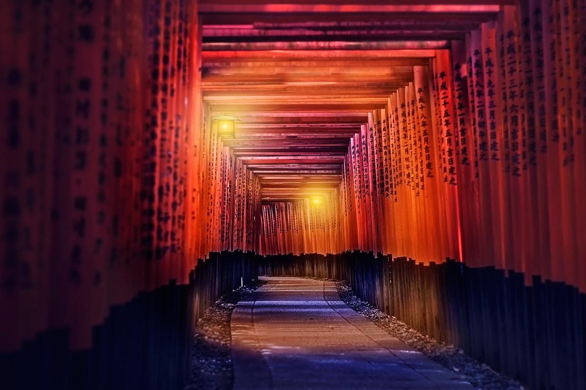 Fushimi Inari-Taisha by TarJakArt