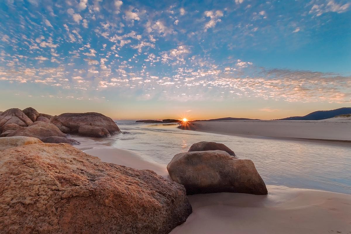 South West Rocks Sunrise by TarJakArt