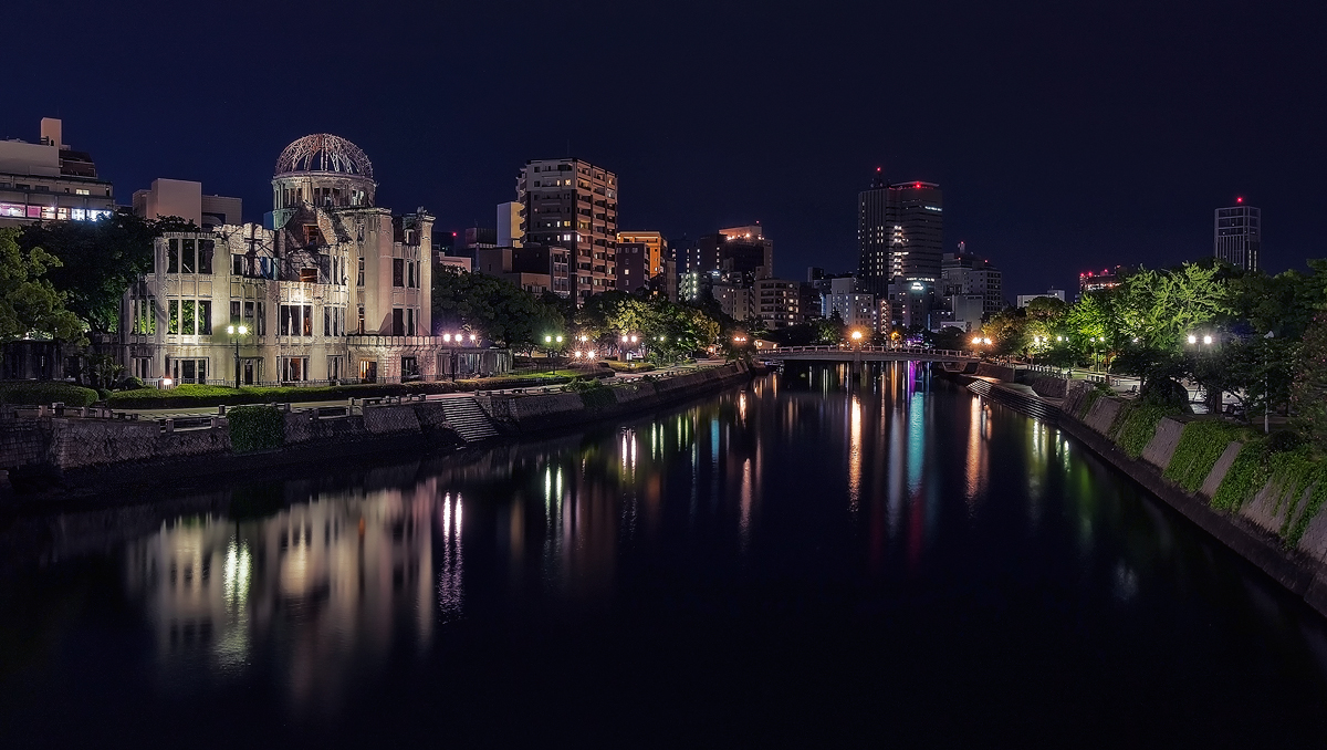 Hiroshima Nightscape by TarJakArt