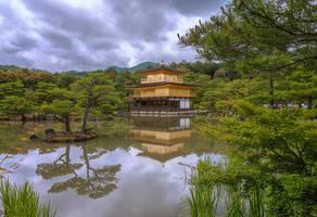 Golden Pavillion by TarJakArt