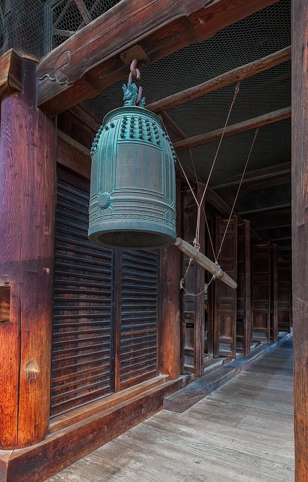 Temple Bell by TarJakArt