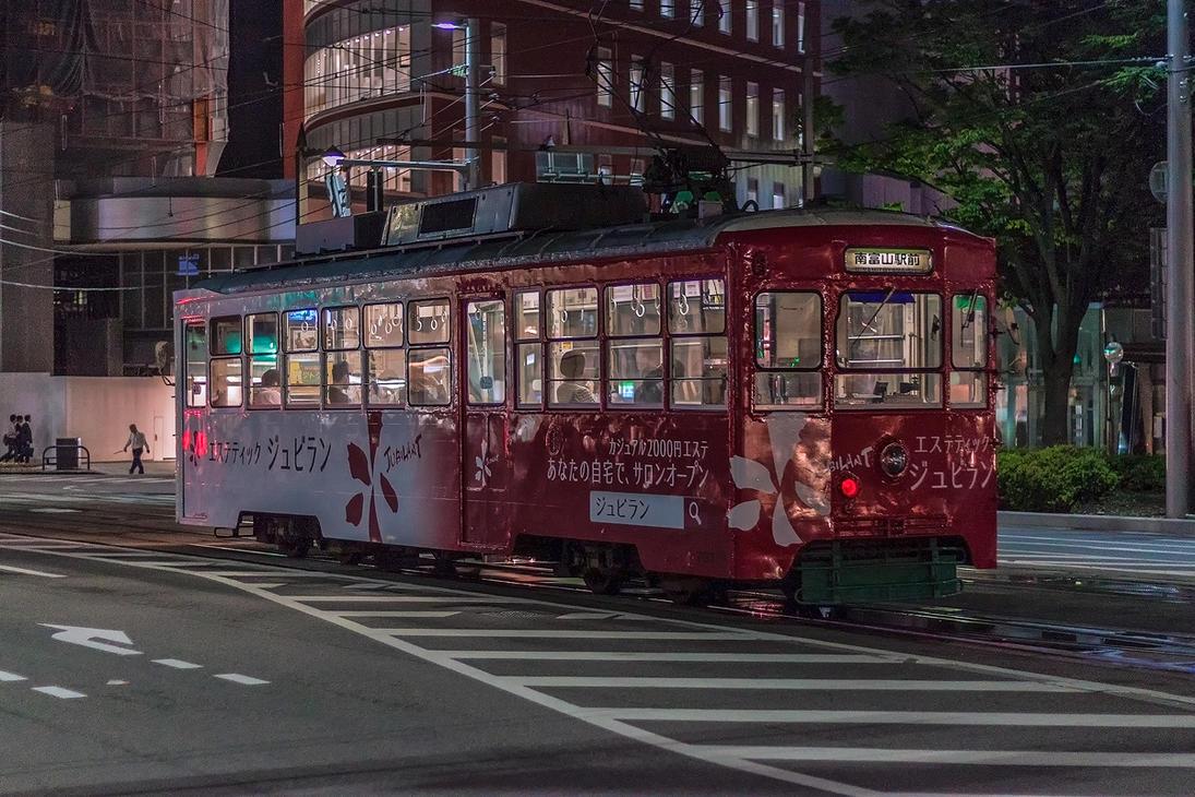Toyama Tram by TarJakArt