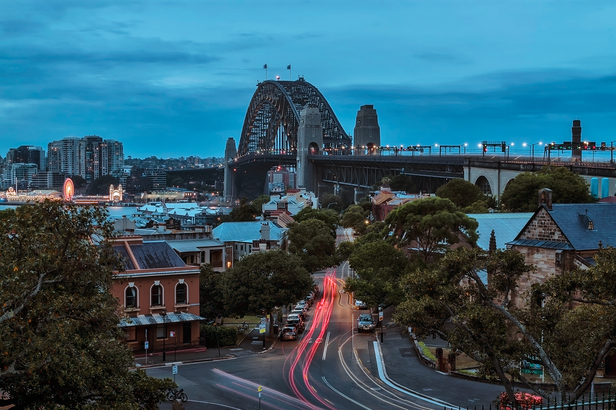Sydney Harbour Bridge by TarJakArt