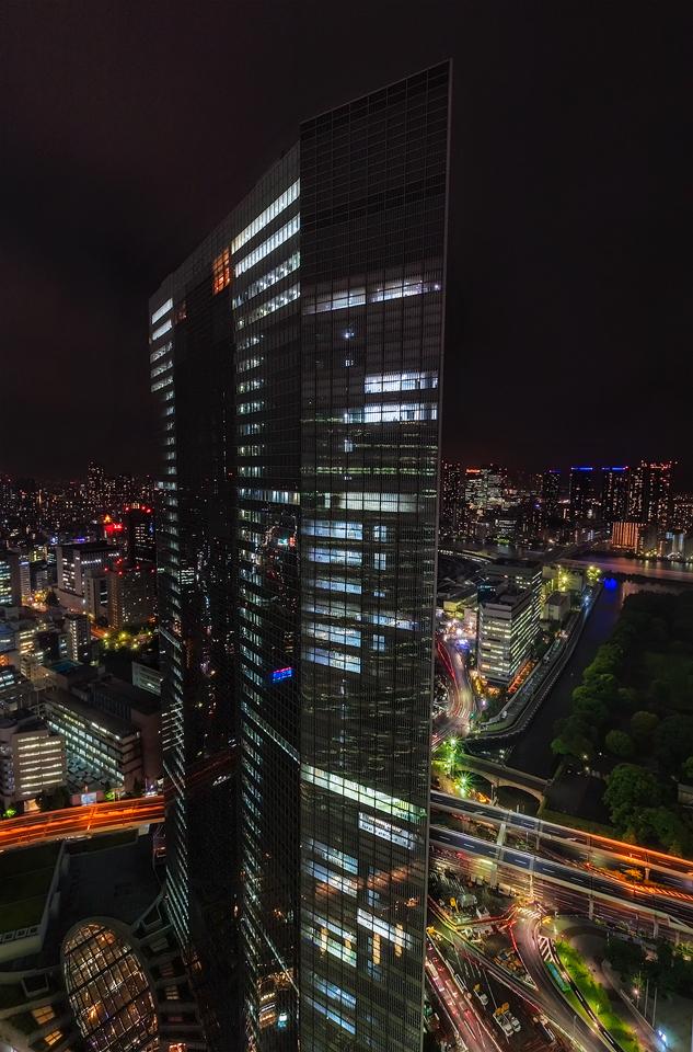 Dentsu Building Tokyo by TarJakArt