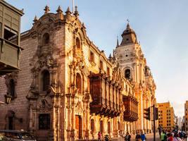 Palacio Arozbispal de Lima by TarJakArt