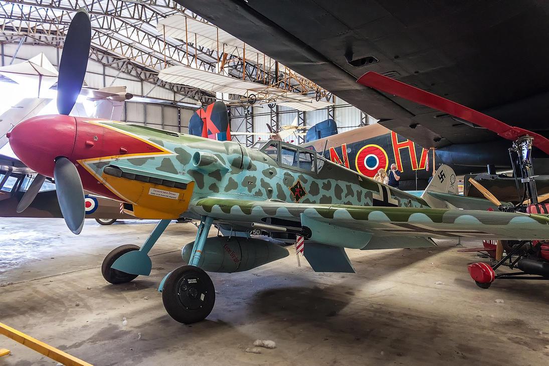 Messerschmit Bf109 G6 by TarJakArt