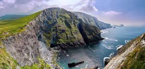 Kerry Cliffs Panorama