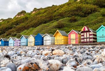 Beach huts by TarJakArt