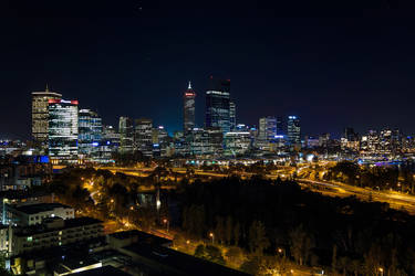 Perth, City of Lights by TarJakArt