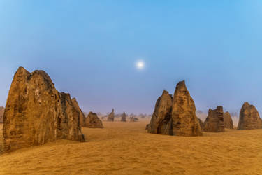 Pinnacles Dawn by TarJakArt