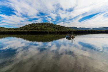 Hawkesbury Reflections by TarJakArt