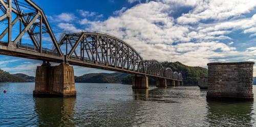 Hawkesbury River Rail Bridge by TarJakArt