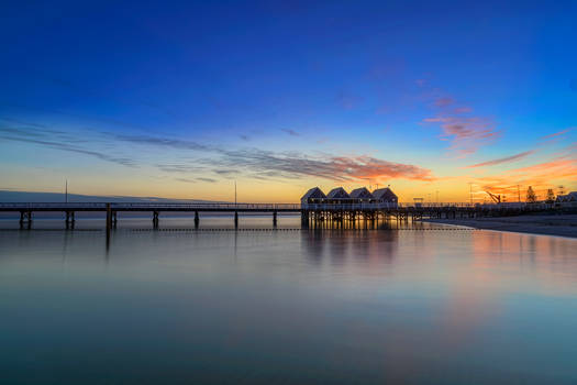 Busselton Jetty at dawn