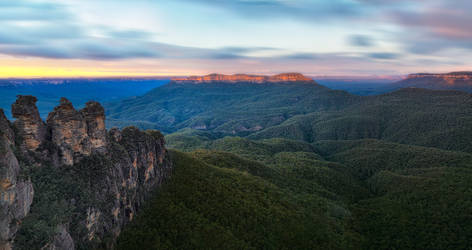 Blue Mountains Morning