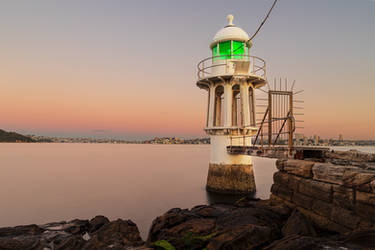Cremorne Point Light by TarJakArt