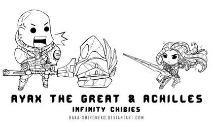 Infinity : Ayax The Great n Achilles