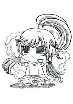 Korra Avatar - Puchi Puchi Version