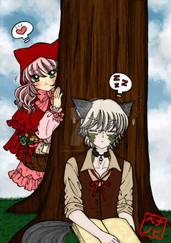 Red Riding Hood Faye n Wolf Rukhe